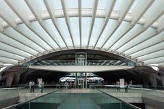 Estación de Oriente, Lisboa imágenes de archivo libres de regalías