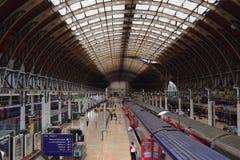 Estación de Paddington imagenes de archivo