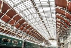 Estación de Paddington en Londres Imagen de archivo