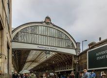 Estación de Paddington en Londres Fotografía de archivo