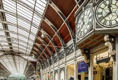 Estación de Paddington en Londres Fotografía de archivo libre de regalías