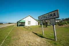 Estación de Paloma del La Imágenes de archivo libres de regalías