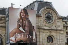 Estación de París Orleans con Burberry Imagenes de archivo