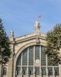 Estación de Paris Nord fotos de archivo