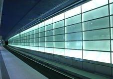 Estación de Potsdamer Platz en Berlín Imagen de archivo libre de regalías