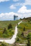 Estación de radar en un Arber más grueso Fotografía de archivo