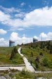Estación de radar en un Arber más grueso Fotografía de archivo libre de regalías
