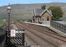 Estación de Ribblehead, línea ferroviaria de Carlisle del Settle foto de archivo libre de regalías