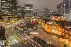 Estación de Tokio Foto de archivo libre de regalías