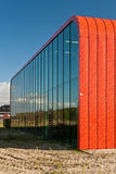 Estación de transferencia de calor en Almere, los Países Bajos Fotografía de archivo libre de regalías
