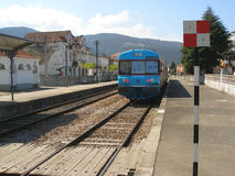 Estación de tren Fotos de archivo libres de regalías