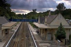 Estación de tren Fotografía de archivo libre de regalías