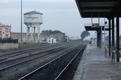 Estación de tren Fotografía de archivo