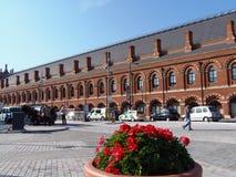 Estación de tren Fotos de archivo