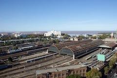 Estación de tren Foto de archivo