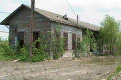 Estación de tren abandonada foto de archivo libre de regalías