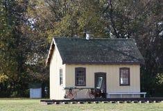 Estación de tren antigua Foto de archivo