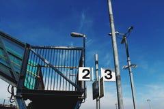 Estación de tren Barry foto de archivo libre de regalías
