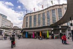 Estación de tren central, Bruselas foto de archivo