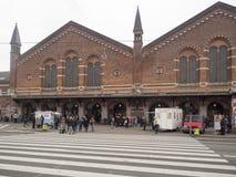 Estación de tren central Copenhague, Dinamarca Fotografía de archivo libre de regalías
