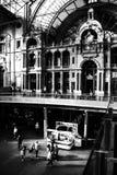 Estación de tren central de Antwerpen Centraal - de Amberes Fotografía de archivo