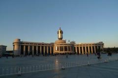 Estación de tren cibernética de la sensación en Tianjin China Fotos de archivo libres de regalías