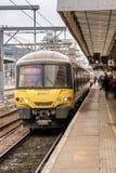 Estación de tren de Cambridge Imágenes de archivo libres de regalías