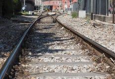 Estación de tren de Como Nord Lago en Como Foto de archivo libre de regalías