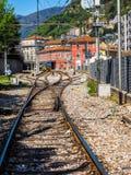 Estación de tren de Como Nord Lago en Como HDR Foto de archivo libre de regalías