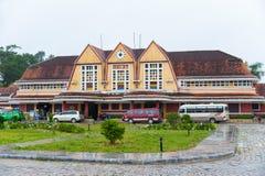 Estación de tren de Dalat, Vietnam Imágenes de archivo libres de regalías