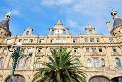 Estación de tren de Haydarpasa Foto de archivo libre de regalías