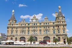 Estación de tren de Haydarpasa Fotos de archivo libres de regalías