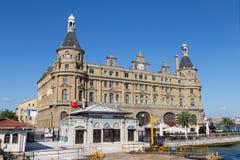 Estación de tren de Haydarpasa Imágenes de archivo libres de regalías