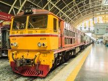 Estación de tren de Hua Lamphong imágenes de archivo libres de regalías