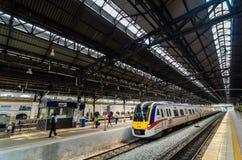 Estación de tren de Kuala Lumpur Imágenes de archivo libres de regalías