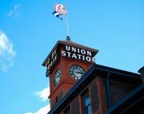 Estación de tren de la unión Seattle foto de archivo libre de regalías