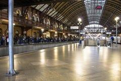 Estación de tren de Luz Fotografía de archivo libre de regalías