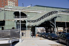 Estación de tren de New York City Foto de archivo libre de regalías