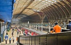 Estación de tren de Paddington Imagen de archivo libre de regalías