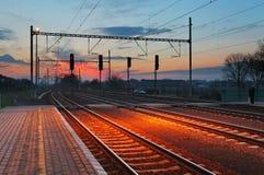 Estación de tren de Passager Imagenes de archivo
