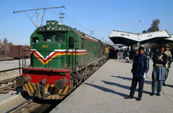 Estación de tren de Quetta Fotos de archivo libres de regalías