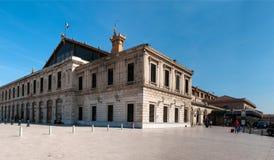 Estación de tren de San Carlos Foto de archivo