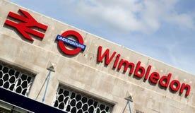 Estación de tren de Wimbledon Imagen de archivo libre de regalías