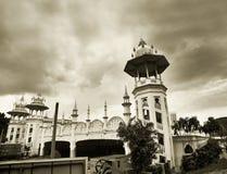 Estación de tren del estilo del Islam foto de archivo libre de regalías
