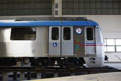 Estación de tren del metro Imagen de archivo