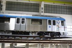 Estación de tren del metro Foto de archivo libre de regalías