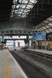 Estación de tren en Dublín Fotos de archivo libres de regalías