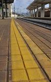 Estación de tren en Italia Foto de archivo
