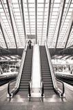 Estación de tren en Lieja, Bélgica foto de archivo