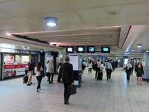 Estación de tren en Londres Foto de archivo libre de regalías